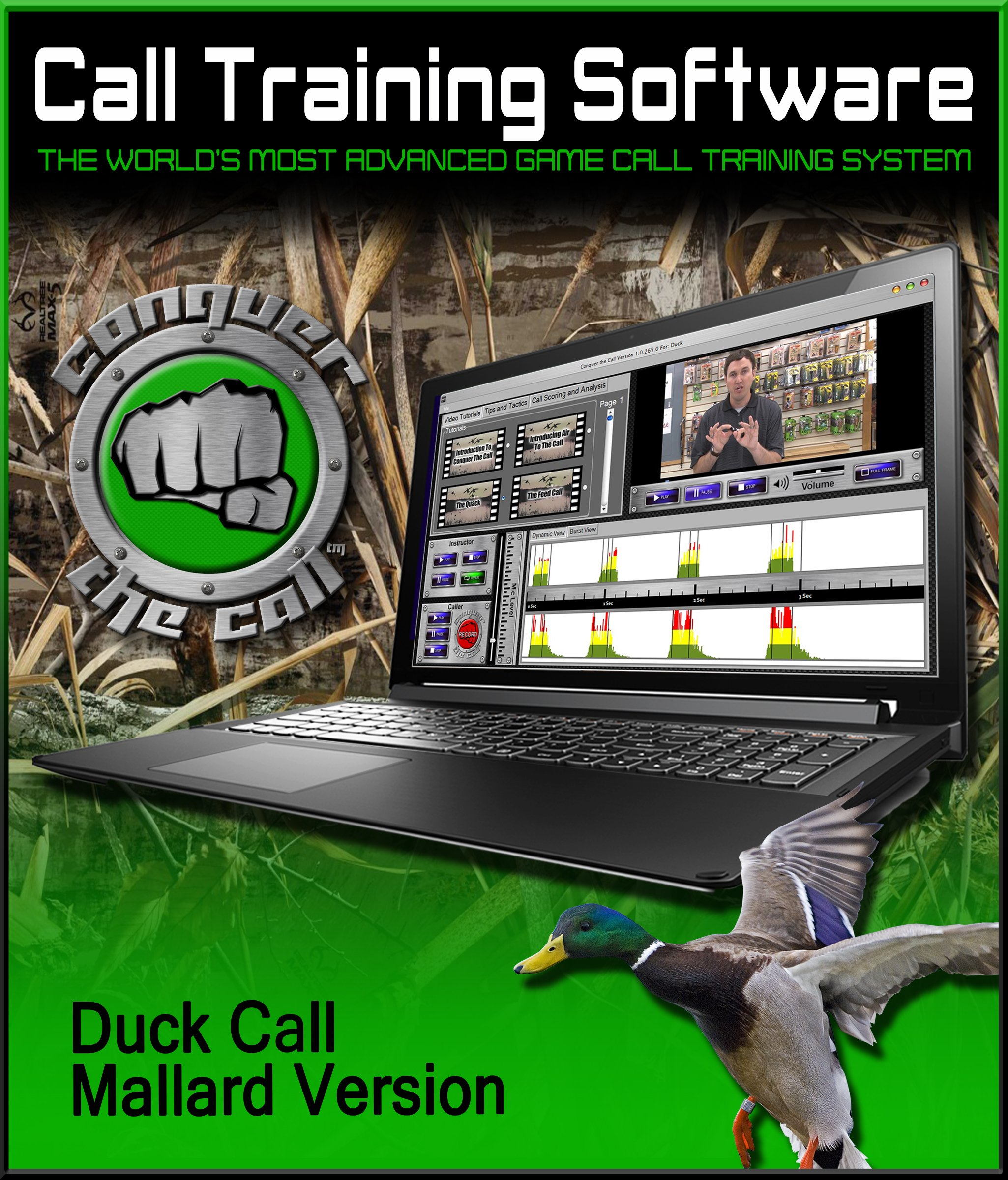 Conquer The Call Duck Call Interactive Software by DYNAMIC OUTDOOR CONCEPTS (Image #1)