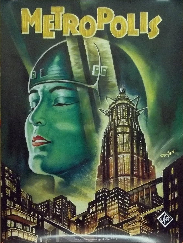 De escena de 27 x 37 Fritz Lang Póster de la película de ...