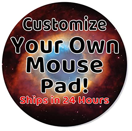 amazon com customized mouse pad add pictures text logo or art