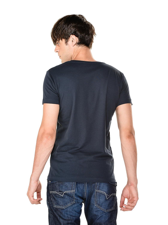 Diesel T-Shirt T-Maps pour Homme en Bleu Marine  Amazon.fr  Vêtements et  accessoires 2f920dc2b248