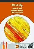 Reeves 8490667 - Bloc de papel para pastel A4 (16 hojas, 180 gsm), color naranja