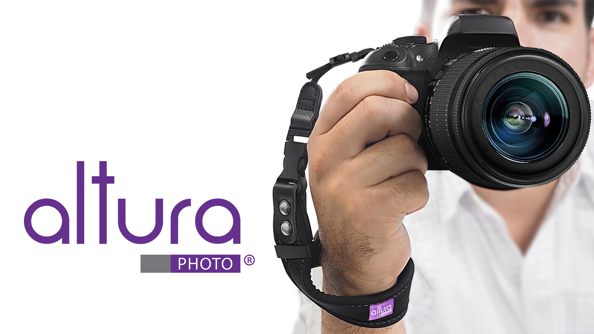 Rapid Fire Secure Grip Padded Wrist Strap Stabilizer by TOAZOE for DSLR and Mirrorless Cameras Camera Hand Strap