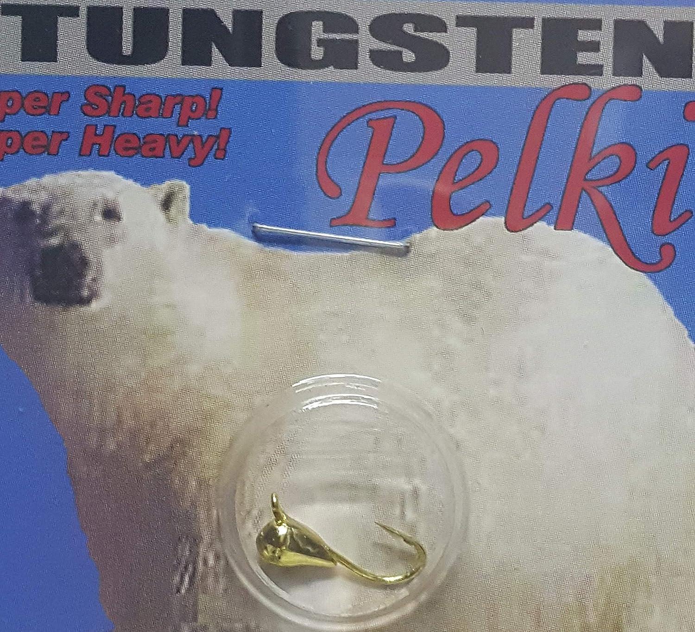 KE skp-14 – 126 Pelkieタングステンジグ、サイズ14、ゴールド   B00CJJ6CHK