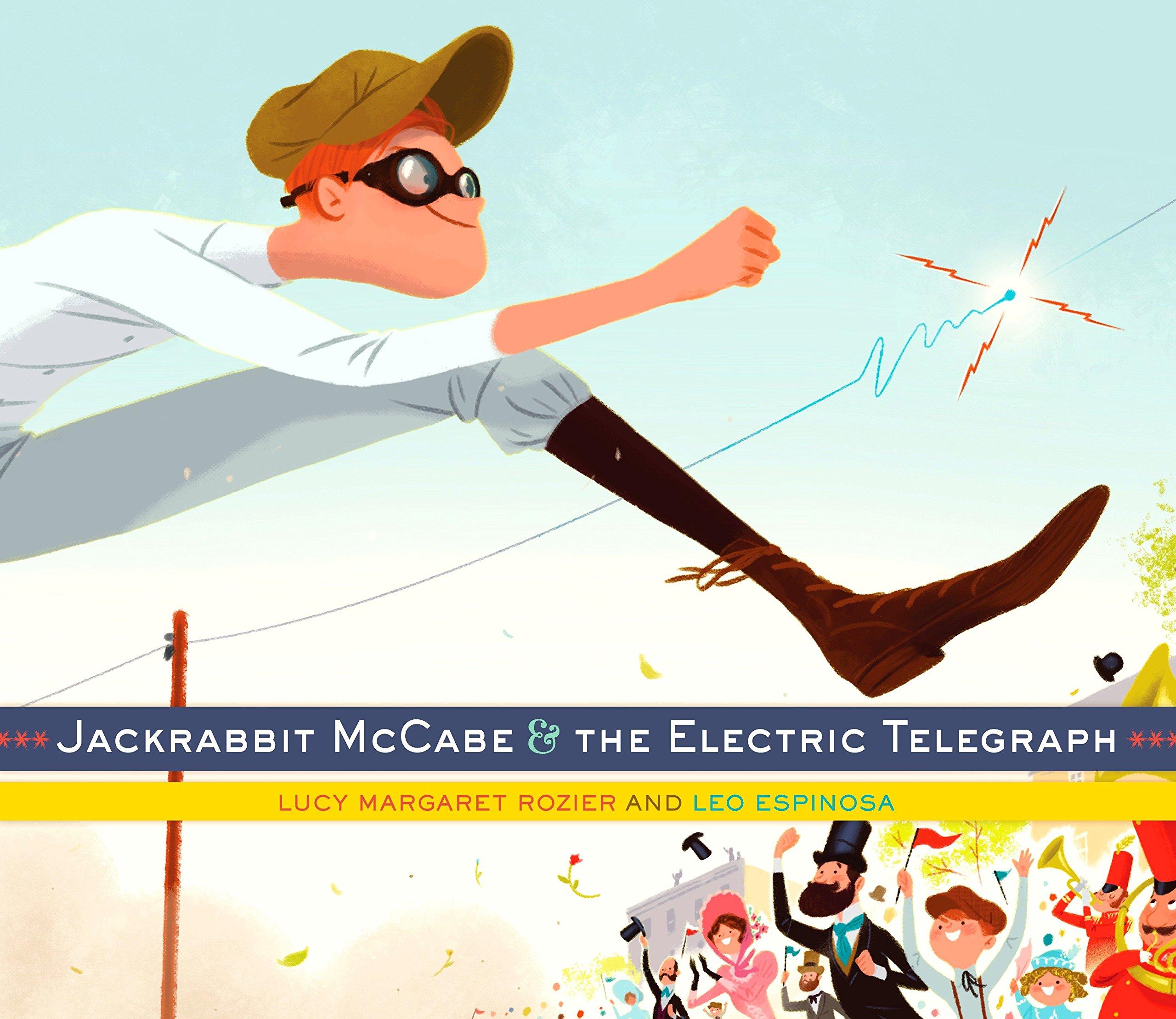 Download Jackrabbit McCabe and the Electric Telegraph pdf epub