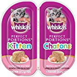 WHISKAS PERFECT PORTIONS Kitten Chicken Paté Entrée 75g