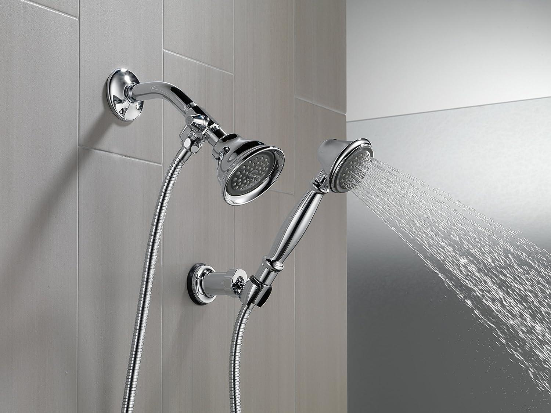 Amazon.com: Delta Shower Arm Diverter for Hand Shower, Chrome: DELTA ...