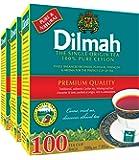 Dilmah Premium 100% Pure Ceylon Tea, 100-Count Tea Bags (Pack of 3)