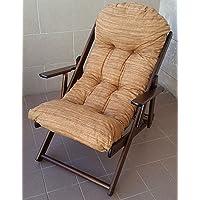 Butaca relax de madera Harmony Lusso, reclinable