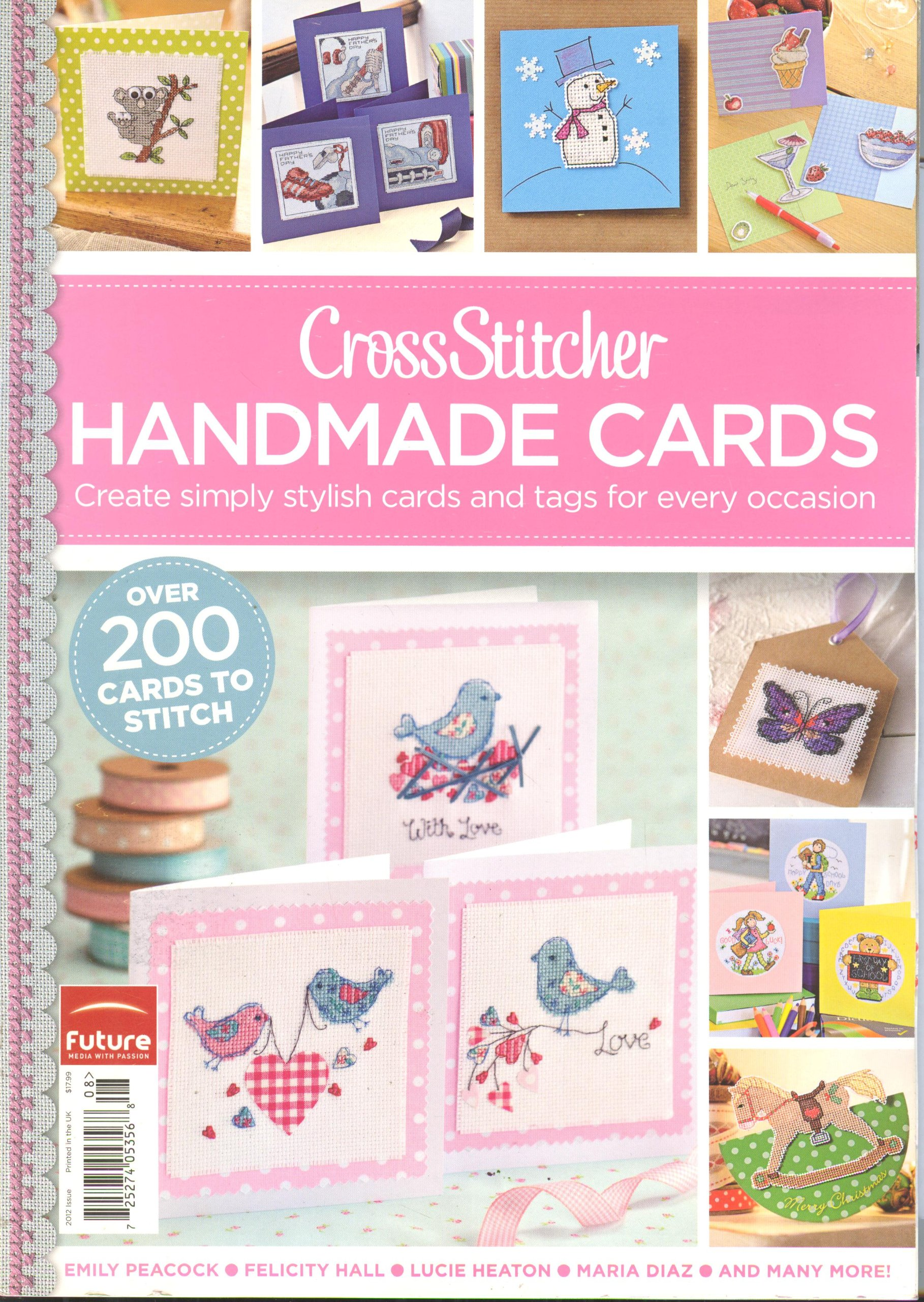 Download CrossStitcher Handmade Cards (2012) pdf