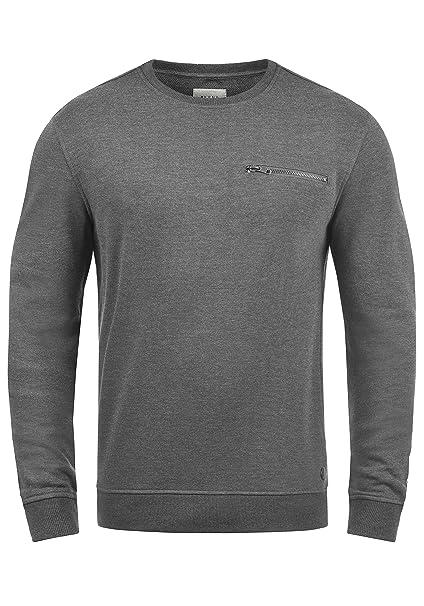 2019 professionell Luxus anerkannte Marken Blend Jesper Herren Sweatshirt Pullover Pulli Mit Rundhalsausschnitt Und  Brusttasche