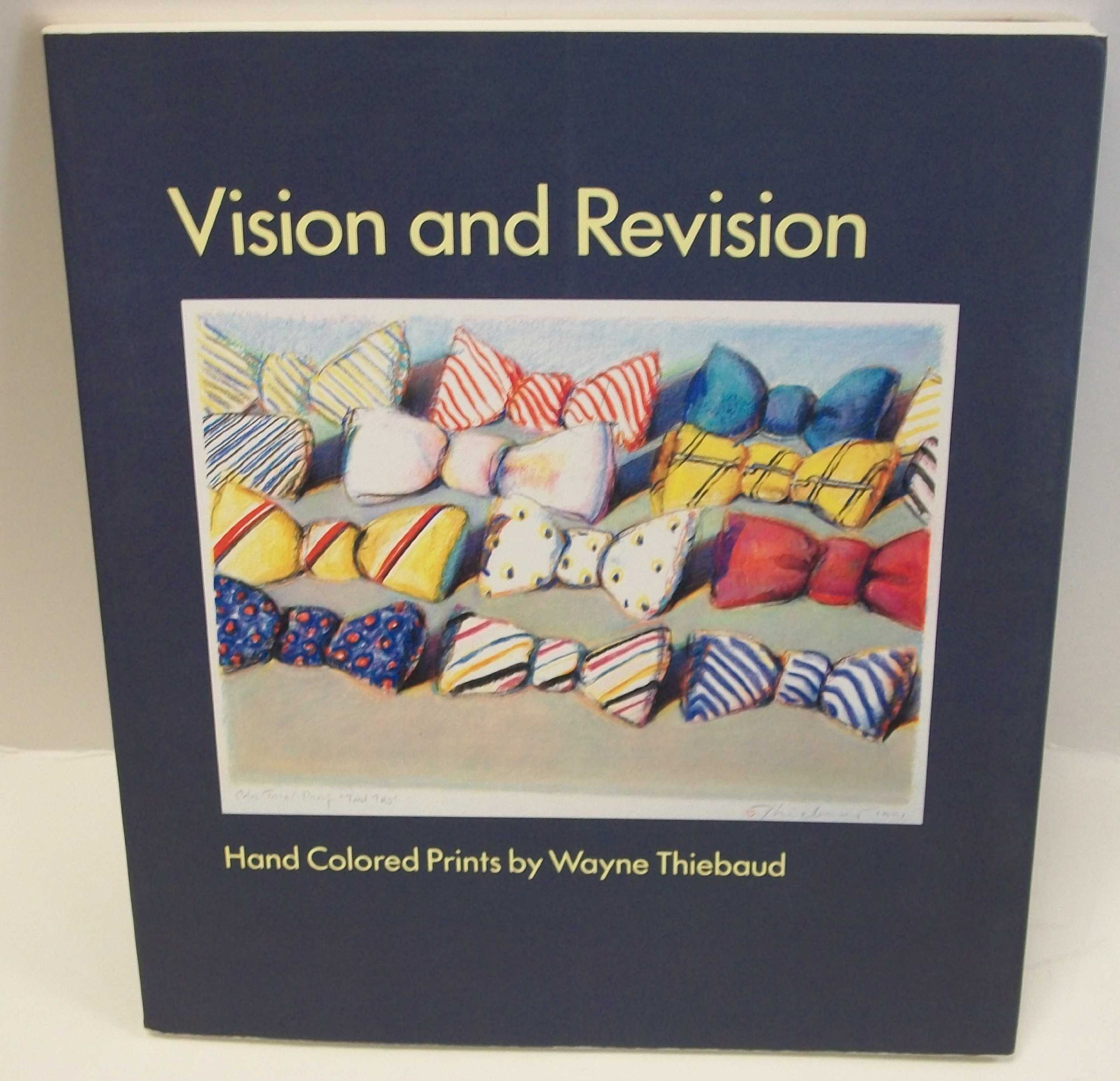 vision and revision hand colored prints by wayne thiebaud