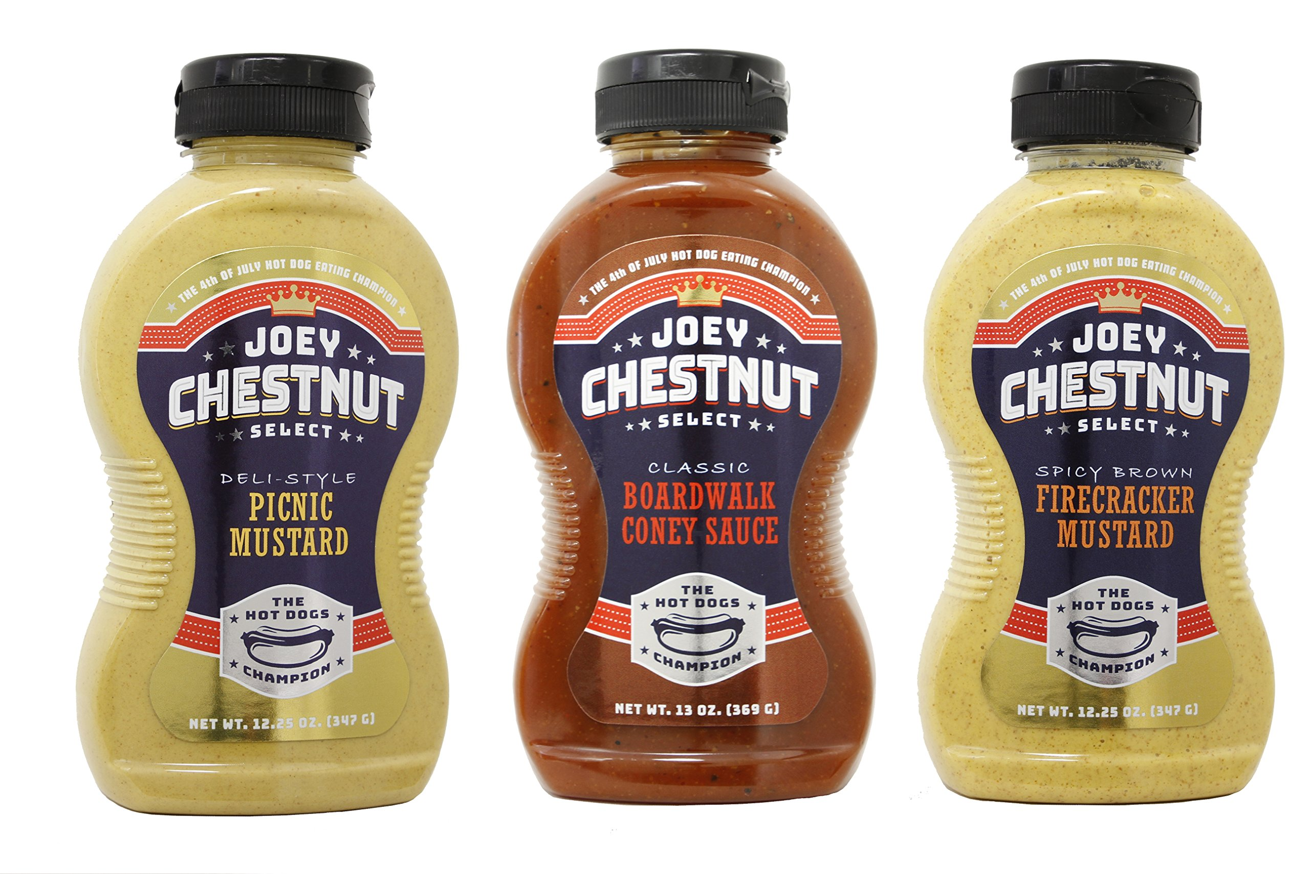Joey Chestnut 3 Pack