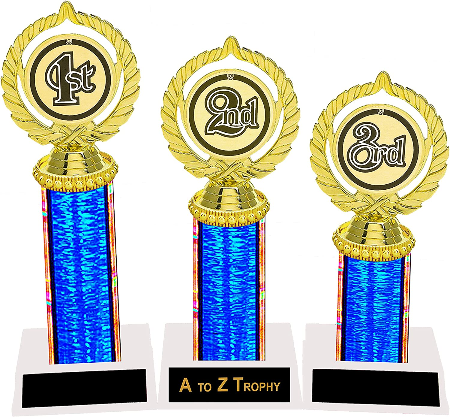 Gold and Red Star Cups Achievement Trophies Awards 4 Sizes Free engraving