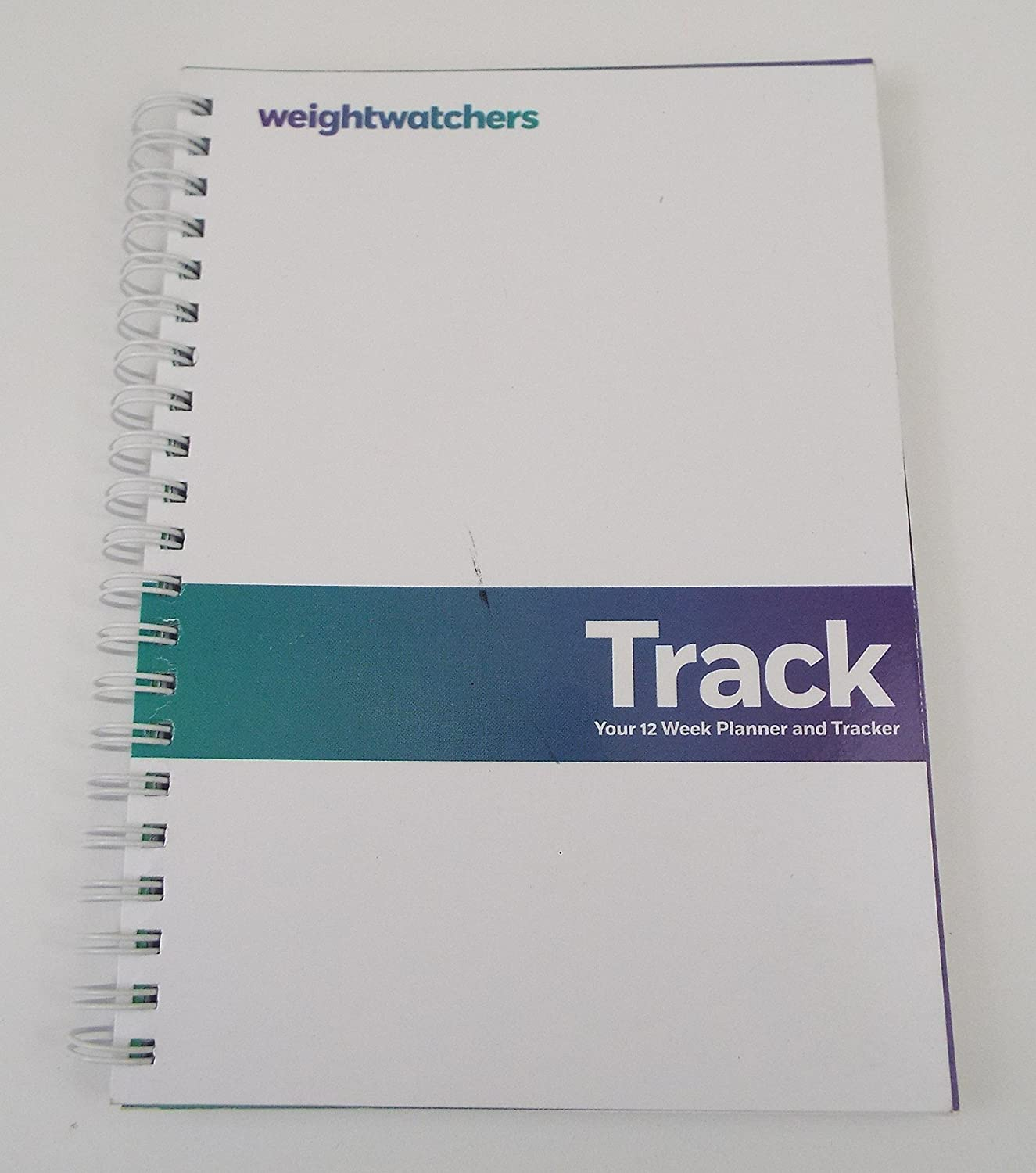 graphic relating to Weight Watcher Point Tracker Printable named Weighchers Keep track of, Your 12 7 days Planner and Tracker, Spiral