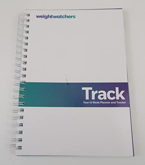 photo regarding Weight Watchers Food Tracker Printable named Weighchers Observe, Your 12 7 days Planner and Tracker, Spiral