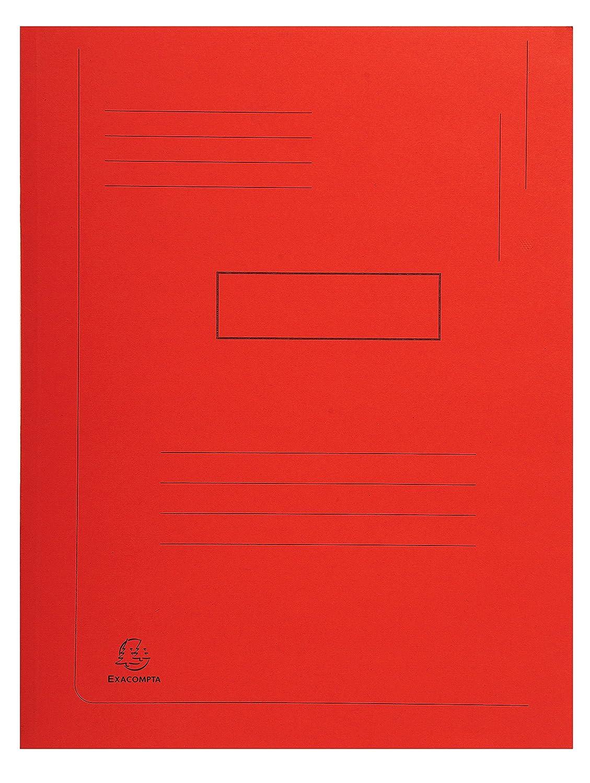 Exacompta 445000E Cartelle con Alette 24x32 cm Multicolore