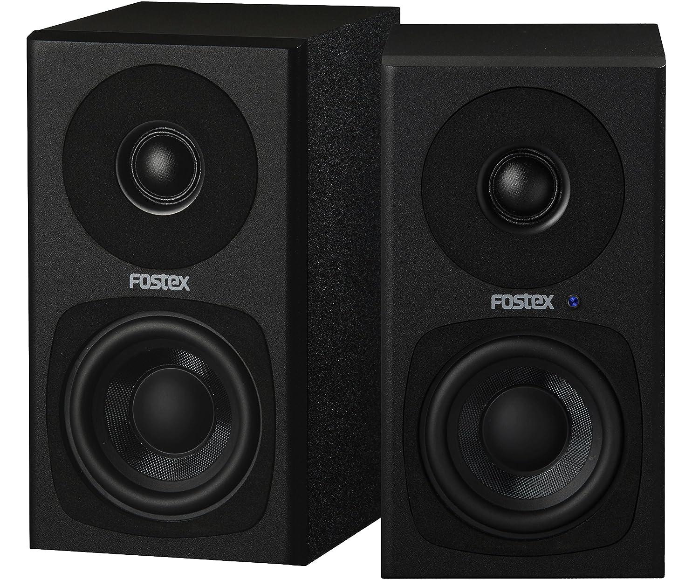 FOSTEX アクティブスピーカー PM0.3H(B) B07K7H9BLB ホワイト  ホワイト|PM0.3(ブラック)+PC1BT(White)セット