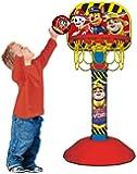 Paw Patrol Grow with Me Basketball Set for Kids   Adjustable Stand and Ball