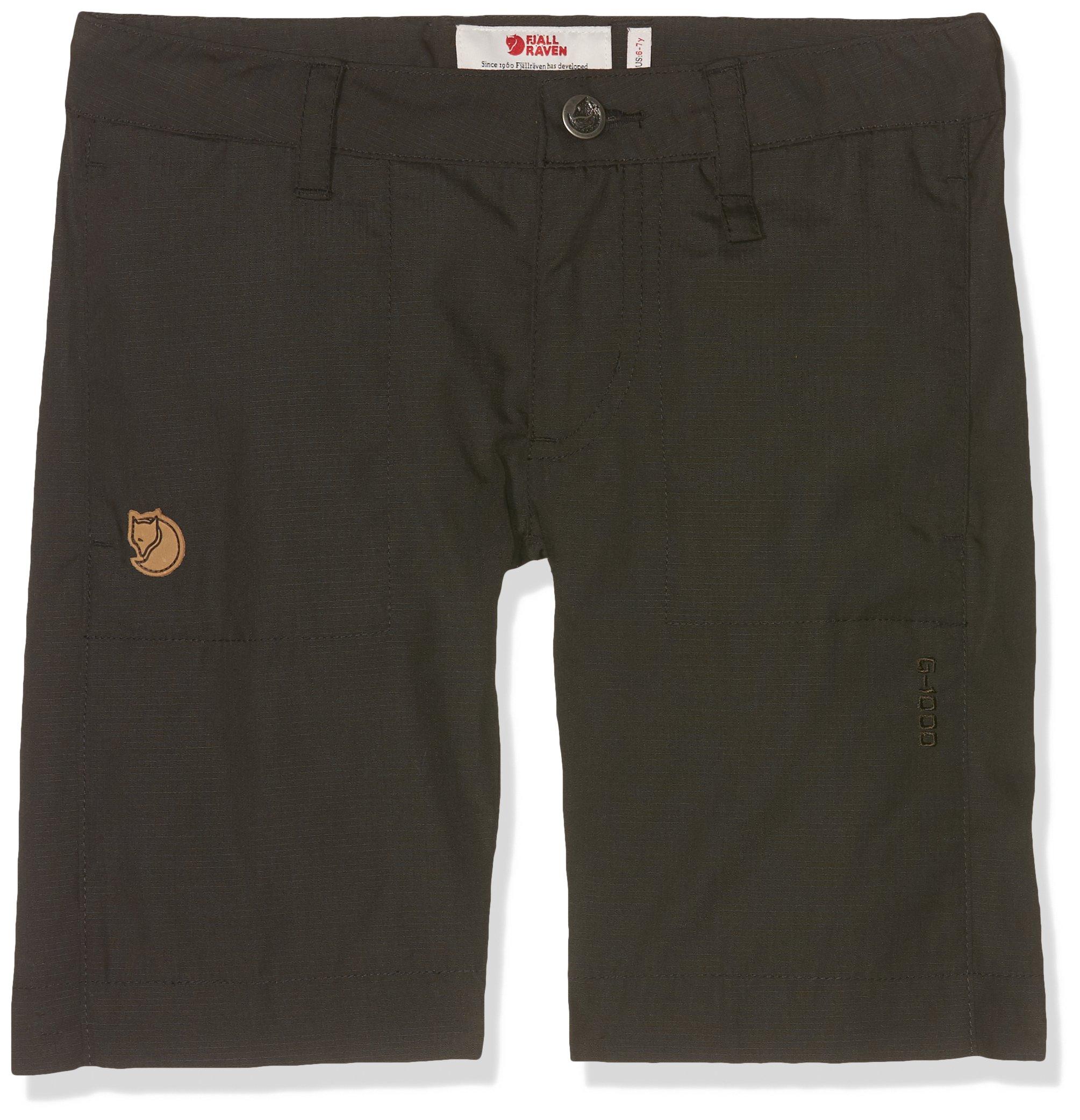 Fjallraven Kid's Abisko Shade Shorts, Dark Grey, 152