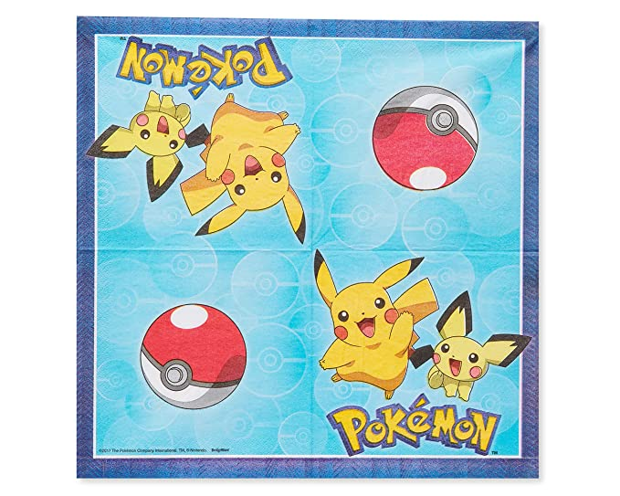 Amazon.com: American Greetings Pokémon Paquete de 8 unidades ...