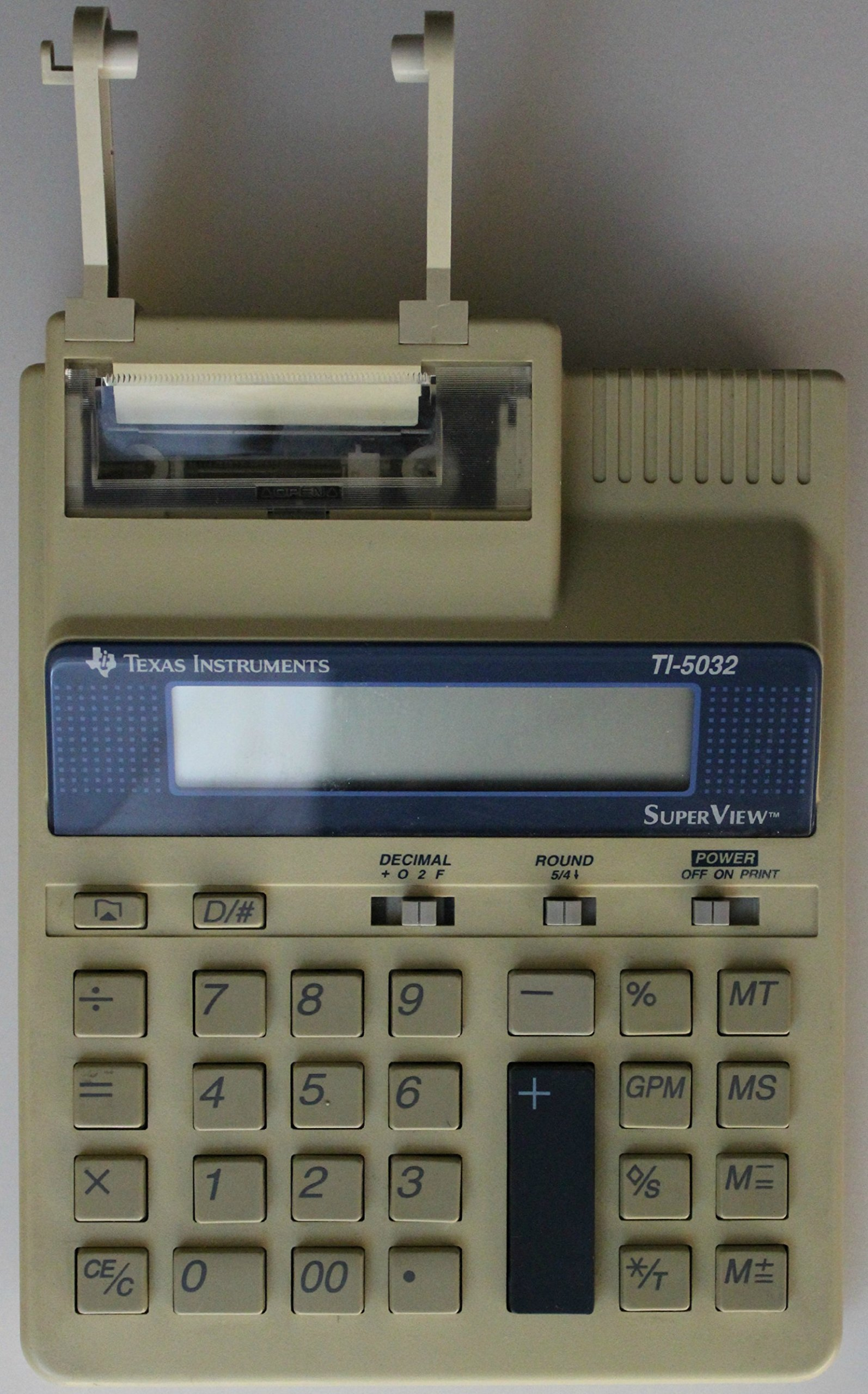 Texas Instruments TI-5032 Compact Printing Calculator