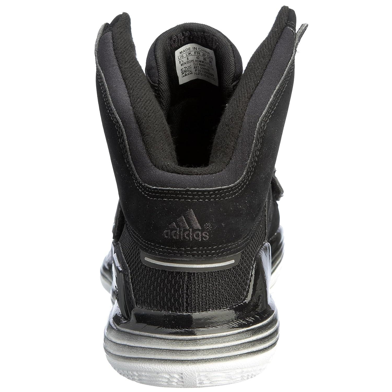 size 40 70308 48159 Amazon.com   adidas Men s TS Supernatural Commander Basketball Shoe, Black  Black Red, 6.5 M   Basketball