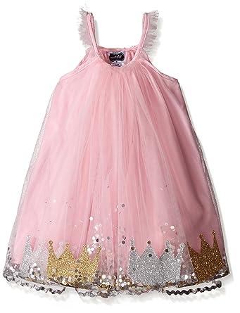 Amazon Com Mud Pie Baby Girl S Birthday Dress Multi 12 Months 4t