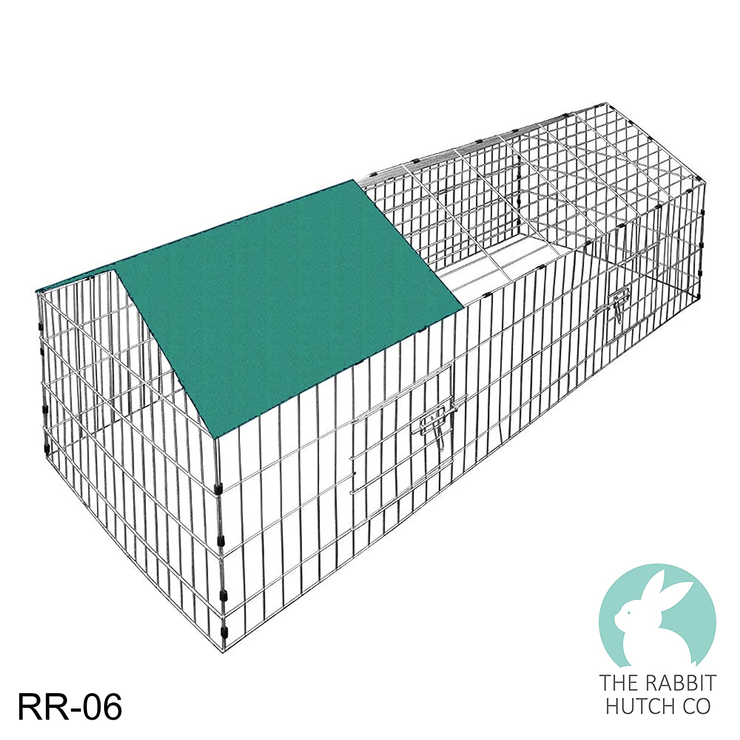 Rabbit Run Playpen Rectangular with Pitched Roof 5 Ft 10 In Long x 2 ...