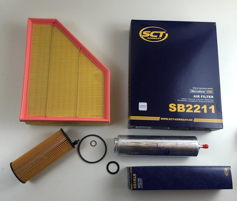 Filter Set Ölfilter Luftfilter Kraftstofffilter 1er E87 E82 E88 116d 118d 100 105kw 120d Auto