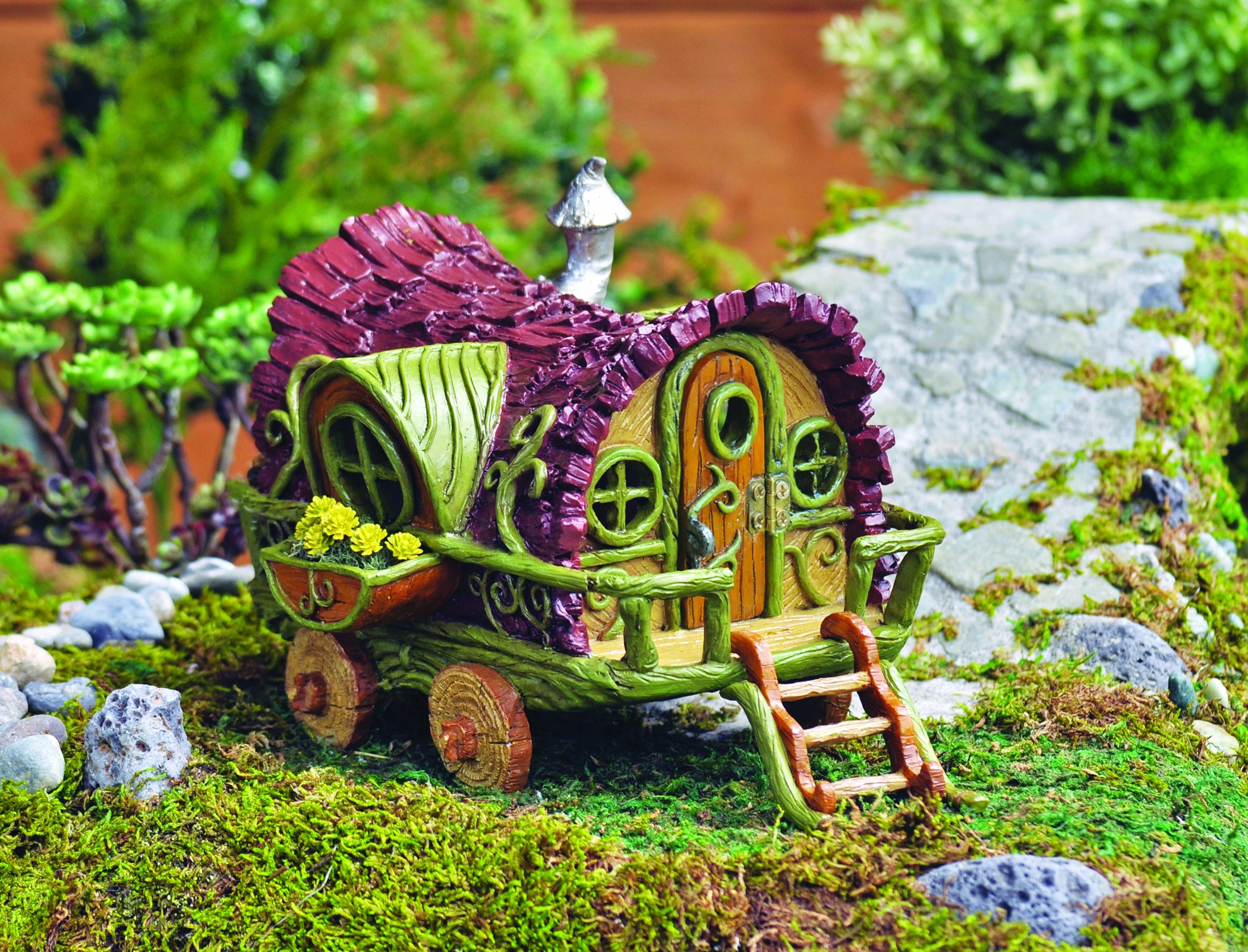 Exceptional Georgetown Home And Garden Fairy #25 - Georgetown Home Garden Fairy Garden Gypsy Wagon