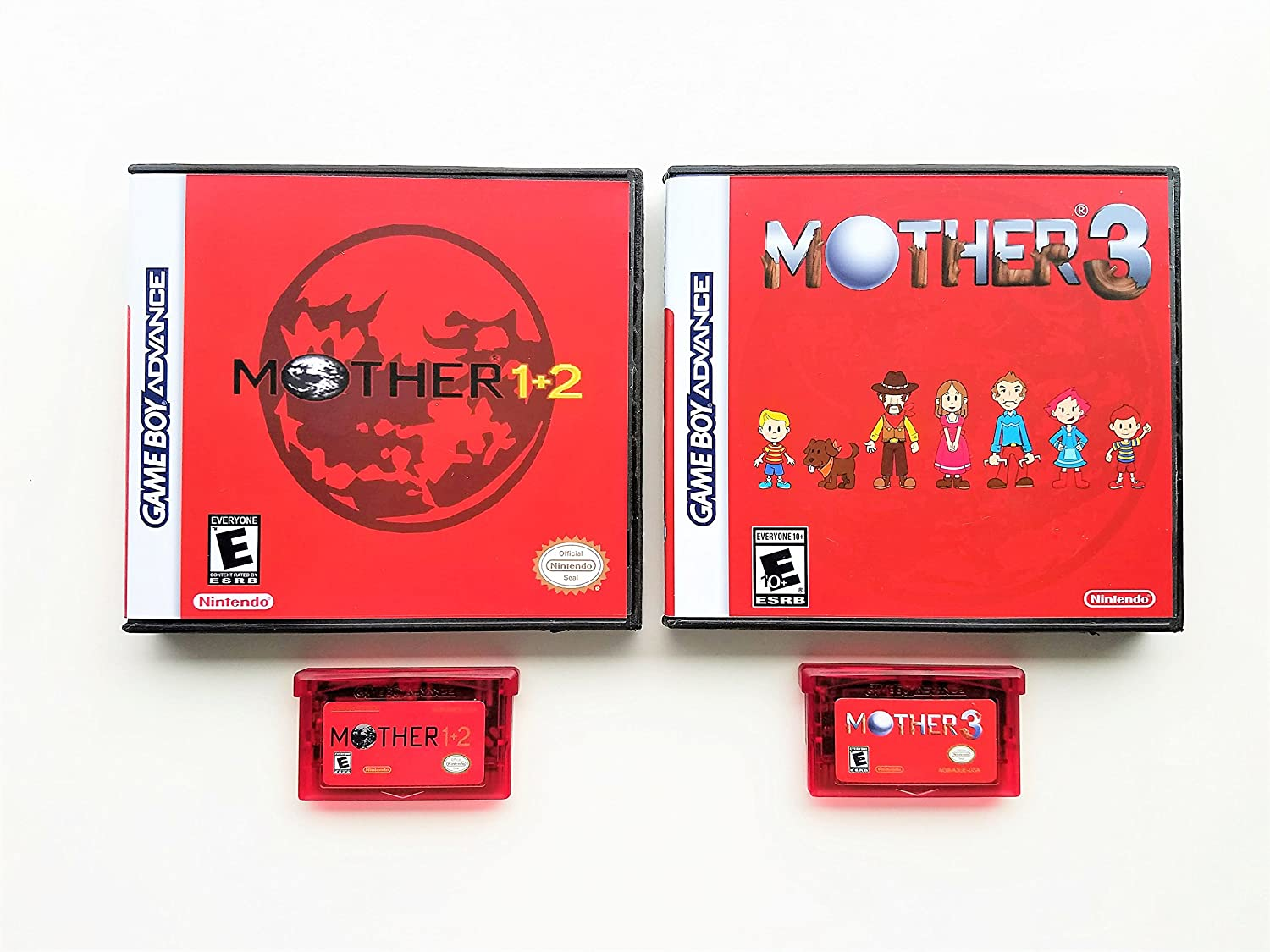 Amazon Com Mother 1 2 3 With Cases Bundle Nintendo Game