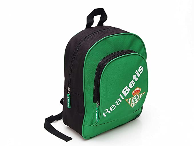 Seva Real Betis Mochila escolar, 34 cm, Multicolor: Amazon.es ...