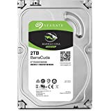 Seagate BarraCuda Internal Hard Drive 2TB SATA 6Gb/s 64MB Cache 3.5-Inch (ST2000DM006)