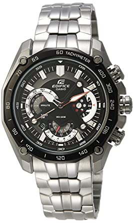 458571cb8c [カシオ]CASIO 腕時計 EDIFICE エディフィス EF-550D-1AV ブラック メンズ 海外モデル