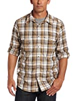 Dakota Grizzly Men's Corky Rayon From Crinkled Fabric Shirt