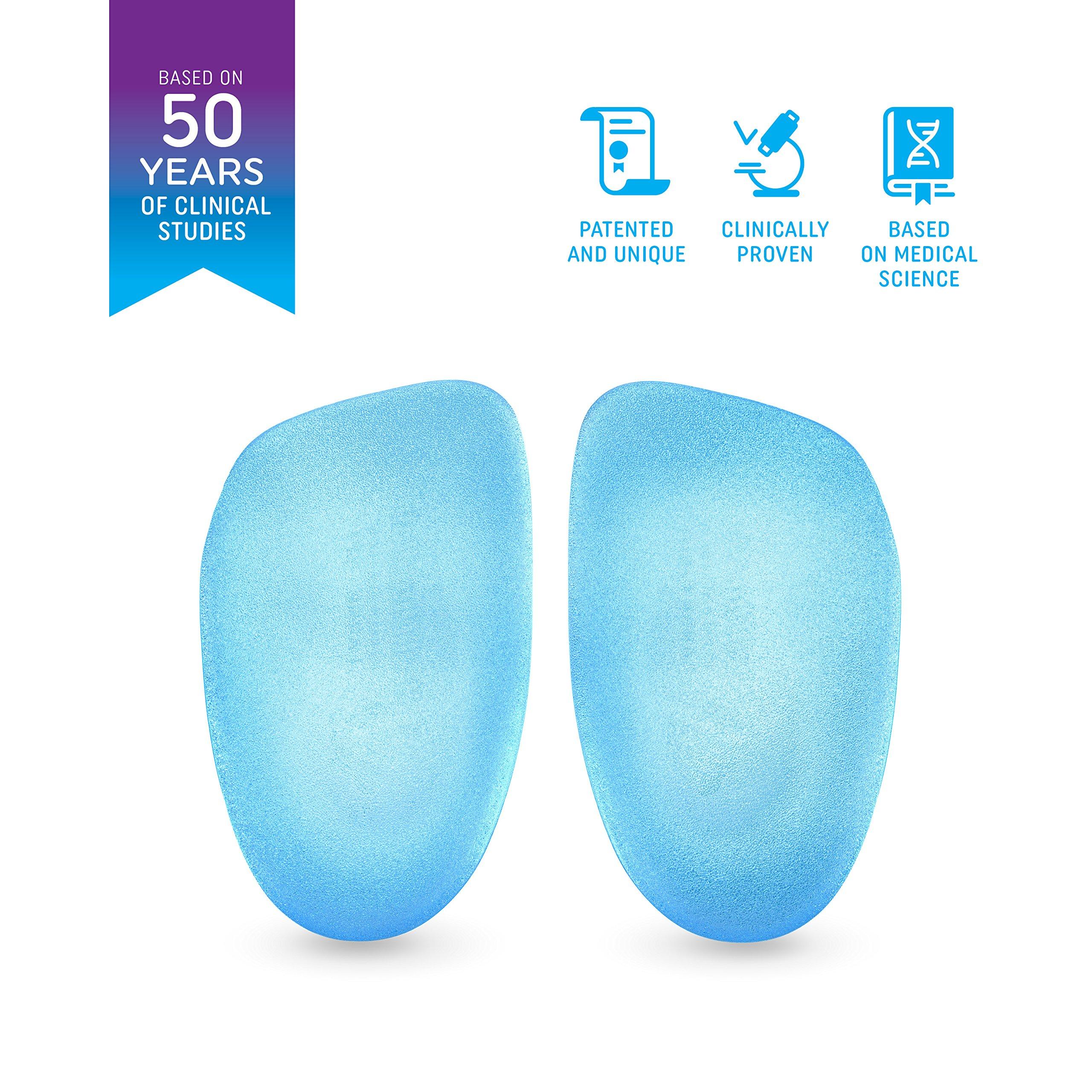 Heel That Pain GEL Heel Seats Foot Orthotic Inserts - Heel Cups Cushions Insoles for Plantar Fasciitis, Heel Spurs, and Heel Pain, Medium (Women's 6.5-10, Men's 5-8) by Heel That Pain (Image #5)