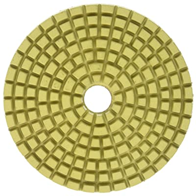 "Specialty Diamond BRTW550 50 Grit 6mm 5"" Premium Wet Polishing Pad: Home Improvement"