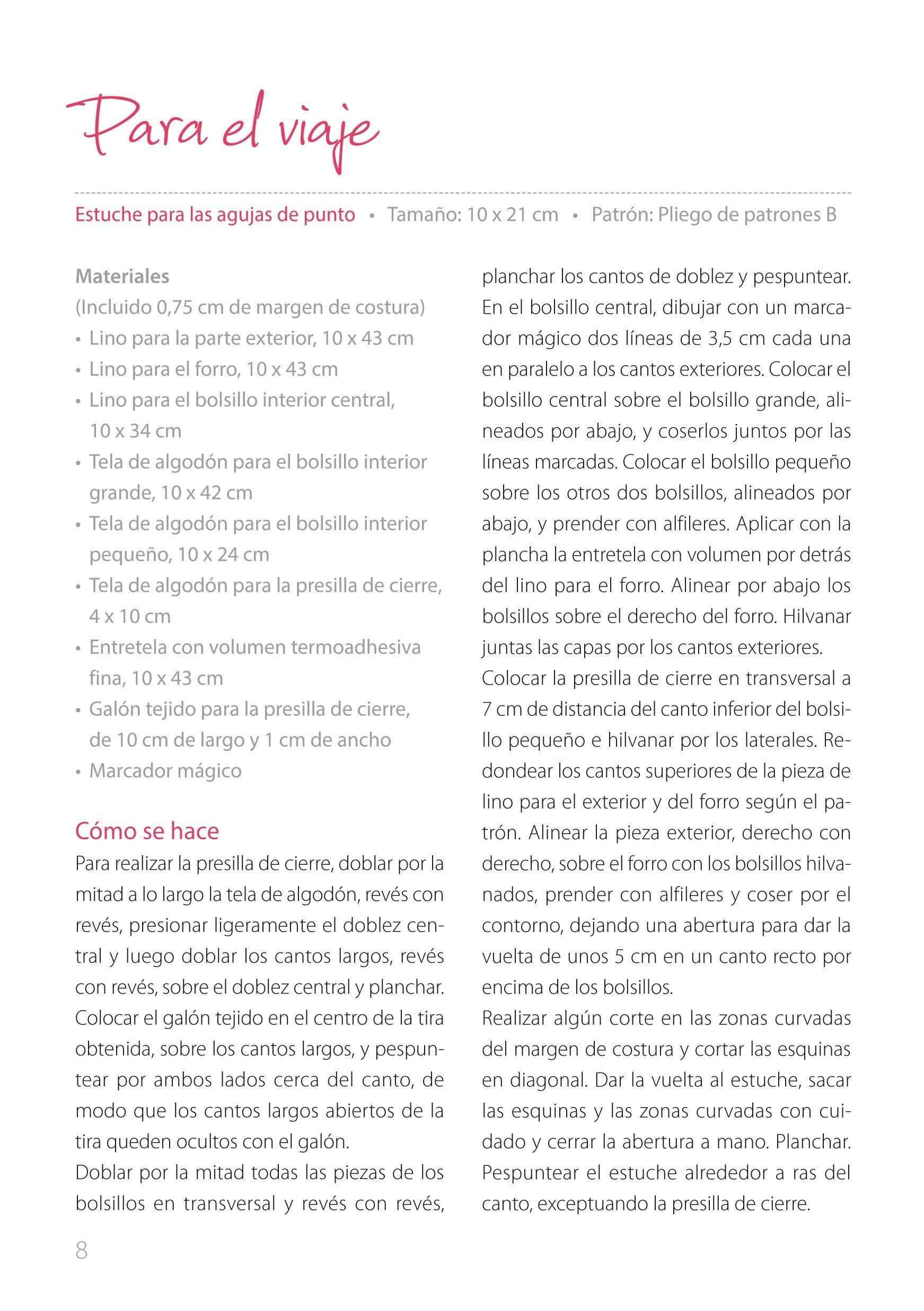 Alfileteros De Tela Y Otros Accesorios De Costura - Número 6 ...