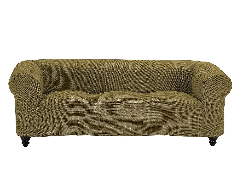 Martina Home Funda Multiélastica para sofá Chester modelo Chipre , Tela, 3 Plazas - color Beige
