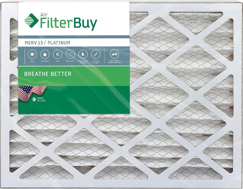 20x22x2 Ultra Allergen Merv 11 Replacement AC Furnace Air Filter 12 Pack