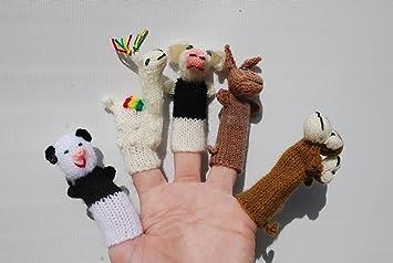 The Puppet Company Kangaroo Finger Puppets