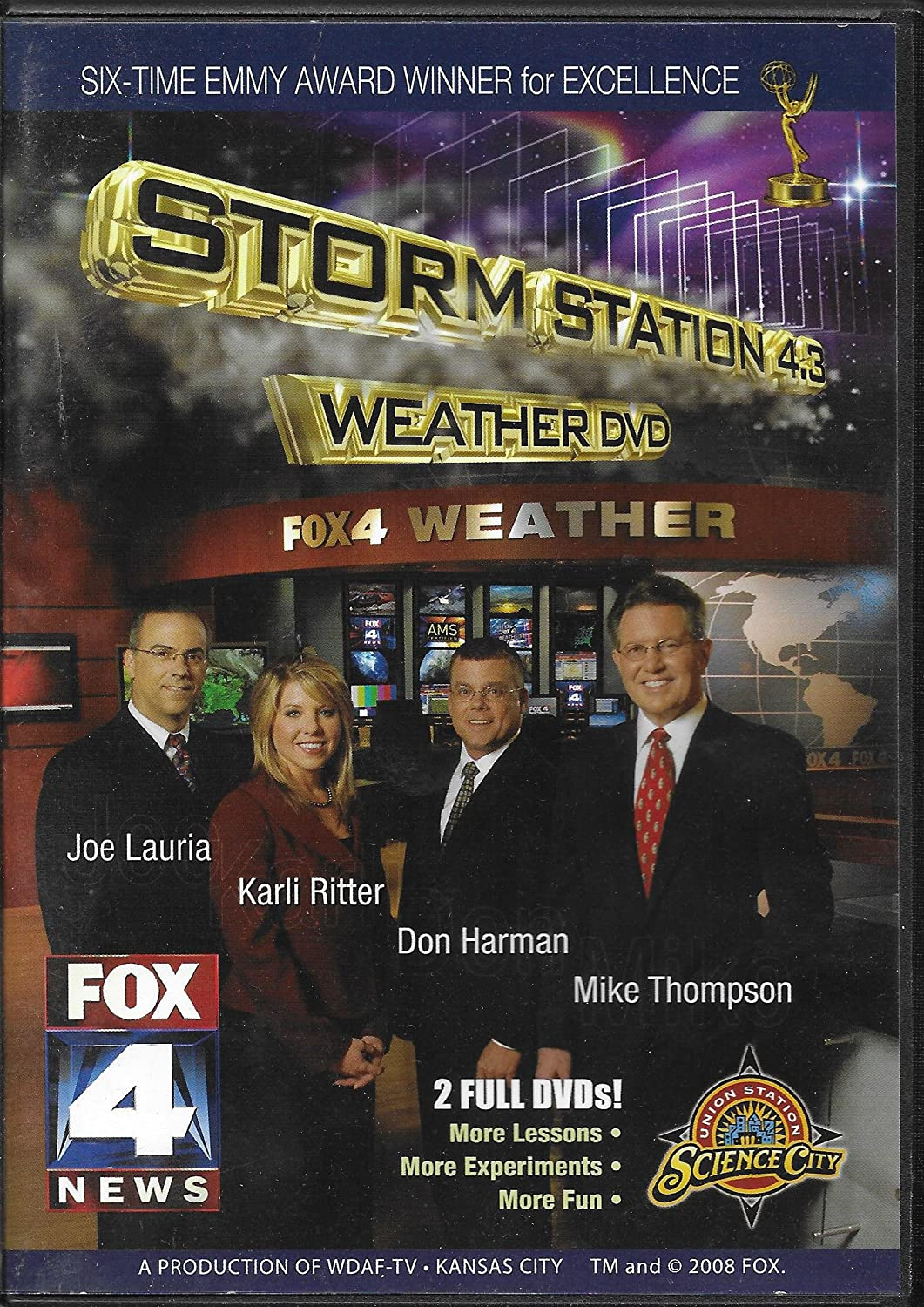 Amazon com: Storm Station 4 3 Weather DVDs [Fully