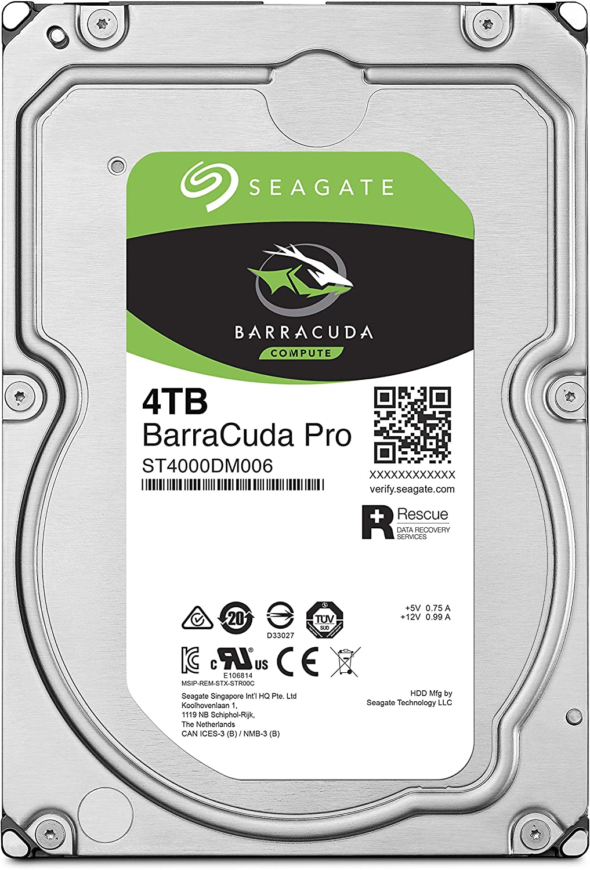 Seagate Barracuda Disco Duro Interno de 4 TB, Plateado: Amazon.es ...
