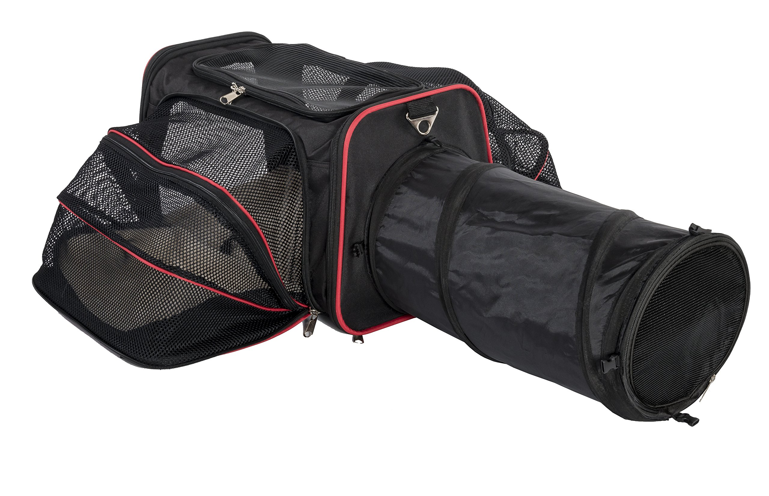 Expandable Pet Carrier with Tunnel by Pet Peppy - Patent Pending ... by Petpeppy.com