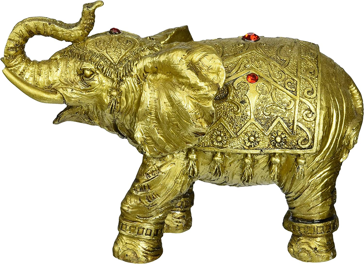 George S Home SS-G-88026 Chen Imports Thai Elephant Buddha Buddhist Collectible Figurine StealStreet