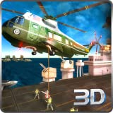 Air Carrier Strike Fleet Lite Battlefield Rescue Survival Mission: Navy Helicopter Air Ambulance Duty In War Wings  Simulator Game 2018