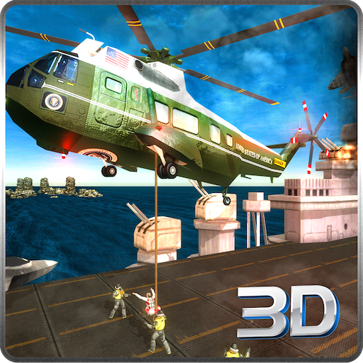 Air Carrier Strike Fleet Lite Battlefield Rescue Survival Mission: Navy Helicopter Air Ambulance Duty In War Wings  Simulator Game 2018 - Helicopter Air Ambulance