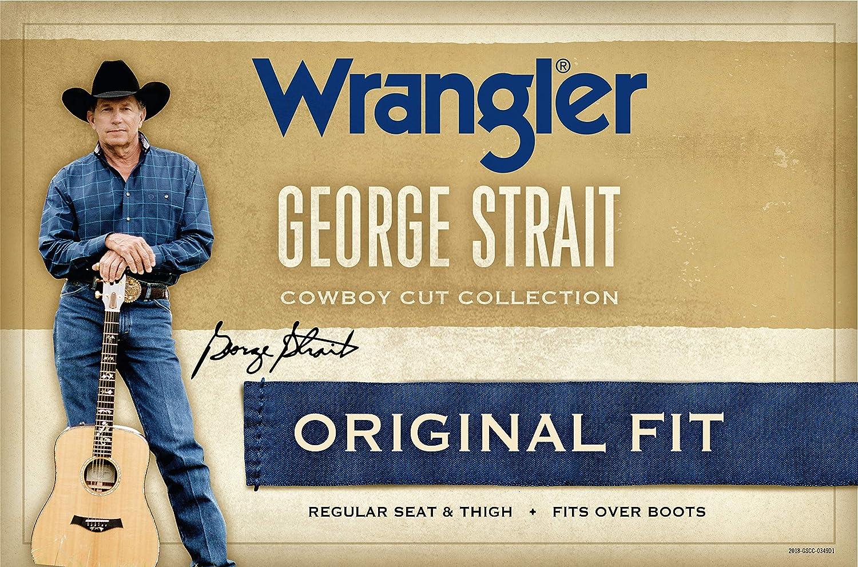 ef873c84343 Wrangler Men s George Strait Cowboy Cut Original Fit Jean at Amazon Men s  Clothing store