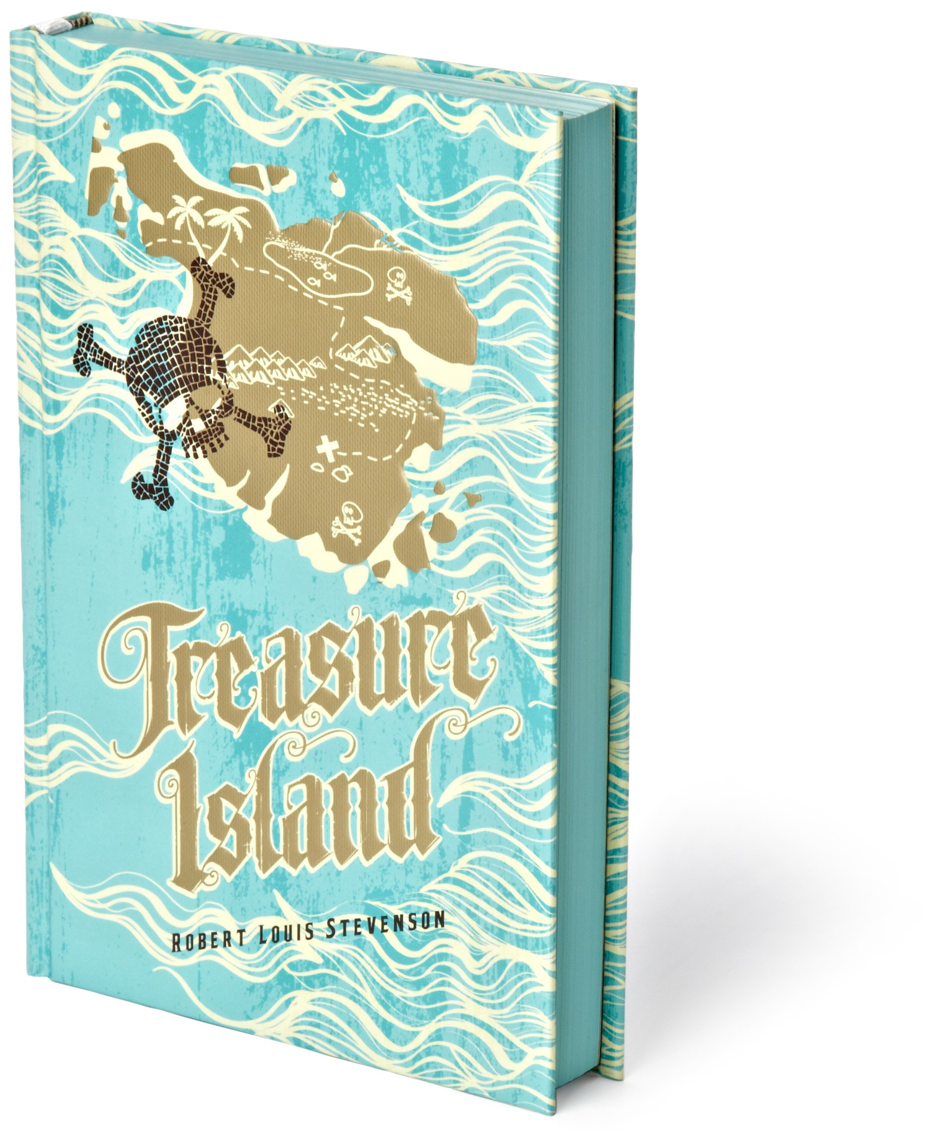 The Adventure Collection: Treasure Island, The Jungle Book, Gulliver's Travels, White Fang, The Merry Adventures of Robin Hood (The Heirloom Collection) by Brand: Two Lions (Image #5)