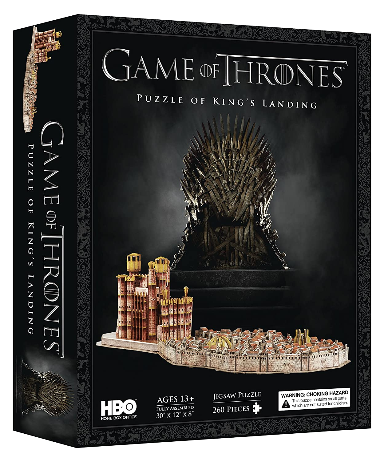 3D Cityscape Game of Thrones: Kings Landing Puzzle